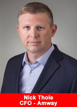 Amway Names Nick Thole As Chief Financial Officer
