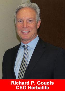 Richard Goudis, CEO, Herbalife