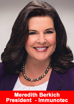 Meredith Berkich President Immunotec