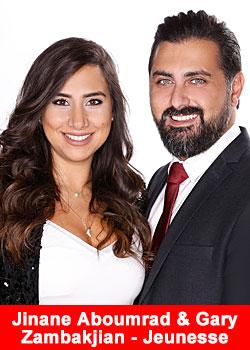 Post image for Jinane Aboumrad And Gary Zambakjian From Lebanon Achieve Diamond Rank At Jeunesse