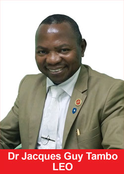 Dr Jacques Guy Tambo From Cameroon Achieves Success With LEO