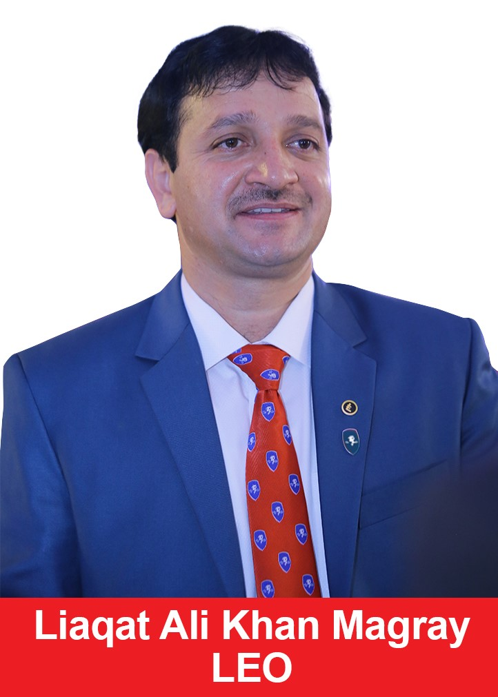 LEO, Regional Marketing Director, Liaqat Ali Khan Magray