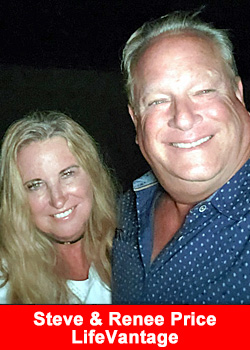 Steve & Renee Price Advance To Elite Pro 7 Rank With LifeVantage