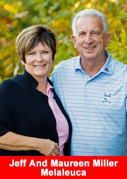 Jeff And Maureen Miller Achieve Presidential Director Rank At Melaleuca