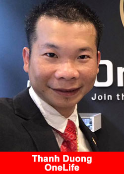 Interview with Thanh Duong From Vietnam OneLife Blue Diamond
