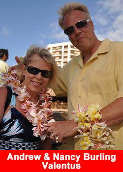 Andrew and Nancy Burling Achieve Triple Diamond Rank At Valentus