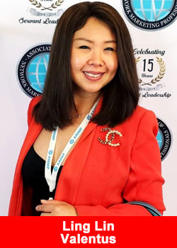 Ling Lin From Indonesia Achieves Triple Diamond Rank At Valentus