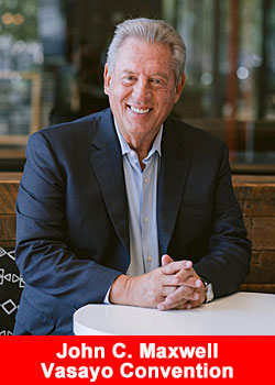Post image for John C. Maxwell To Keynote Vasayo Virtual Convention, August 5–7