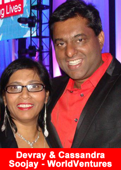 Devray and Cassandra Soojay - WorldVentures