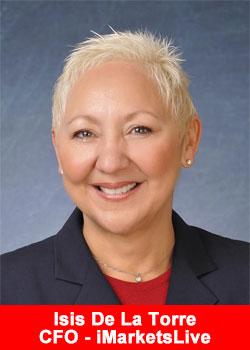 Isis De La Torre, CFO, iMarketslive