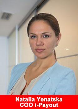 Natalia Yenatska i-Payout COO