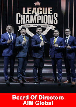 AIM Global Recognizes 5,700+ Top Leaders At Awards Night 2018
