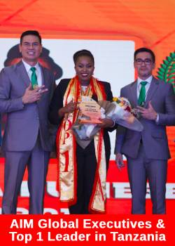 AIM Global Tanzania Holds 1st Anniversary with 4,000 Distributors