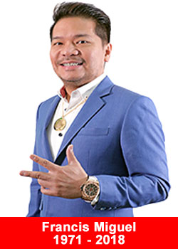 Francis Miguel And His Lasting Legacy
