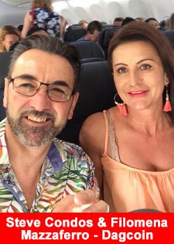 Top Leaders Steve Condos And Filomena Mazzaferro From Australia Join DagCoin - Success Factory
