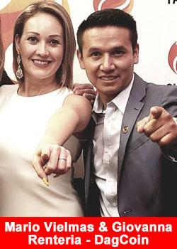 Mario Vielmas And Giovanna Rentería Achieve Black Diamond Rank At Success Factory -  DagCoin