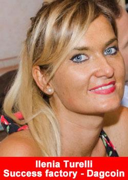 Ilenia Turelli Achieves Blue Diamond Rank With Success Factory - Dagcoin
