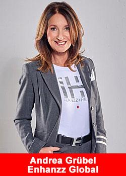 Post image for Enhanzz Global Celebrates Its First Female Ambassador: Andrea Grübel