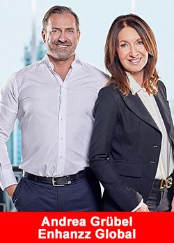 Post image for Industry Female European Top Leader Andrea Grübel Joins Enhanzz Global