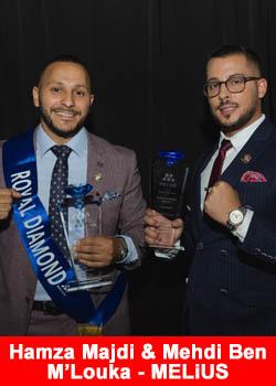 Hamza Majdi & Mehdi Ben M'Louka Achieve Royal Diamond Rank At MELiUS