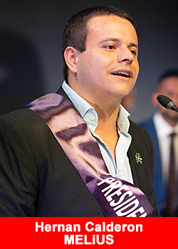 Top Leader Hernan Calderon From Costa Rica Achieves Presidential Diamond Rank At MELiUS