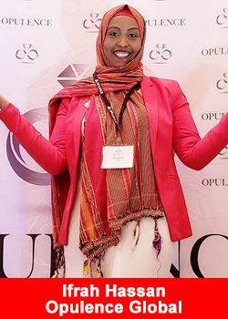 Somali Canadian Ifrah Hassan Celebrates $25,000 Month Club At Opulence Global