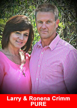 Larry & Ronena Crimm Achieve Blue Diamond Rank At PURE