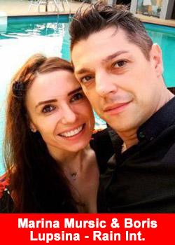Boris Lupsina And Marina Mursic Achieve Black Rain Diamond Rank At Rain International