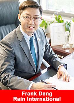 Frank Deng Joins Rain International Advisory Board