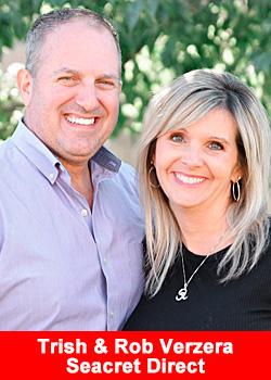 Post image for Trish & Rob Verzera Achieve Diamond Rank At Seacret Direct