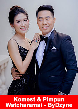 Post image for Komest And Pimpun Watcharamai From Thailand Achieve 2-Star President Rank At ByDzyne