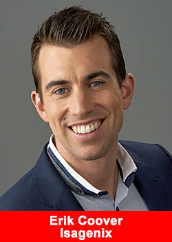 Isagenix Appoints Eric Coover As Chief Visionary Officer