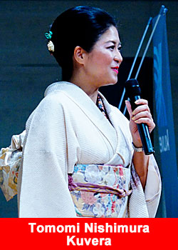 Everyday A Holiday For Kuvera's Platinum Ambassador Tomomi Nishimura From Japan