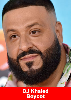Popstar DJ Khaled New Album Boycotted Because Of A Deal with MLM Company Market America