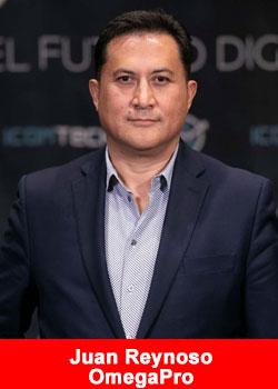 OmegaPro Names Seasoned Entrepreneur Juan Reynoso As GM For Latin America
