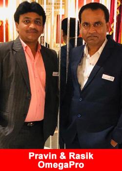 Pravin Tarpara & Rasik Shiroya Achieve Blue Diamond Rank At OmegaPro