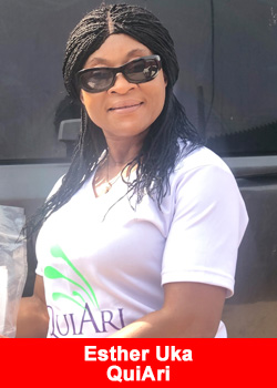Post image for Top Nigerian Leader Esther Uka Joins QuiAri