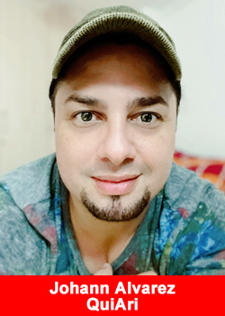 Post image for Popular Singer Johann Alvarez From Colombia Joins QuiAri