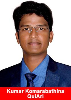 Industry Veteran Kumar Komarabathina From India Joins QuiAri