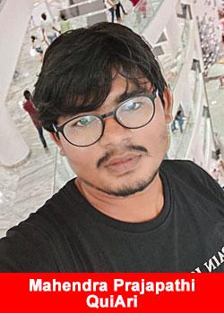 MLM Leader Mahendra Prajapathi From India Joins QuiAri