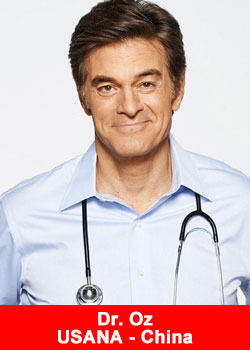 USANA Sponsored Dr. Oz Show Now Officially Distributed In China