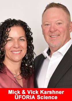 Industry Veterans Mick & Vick Karshner Join Uforia Science