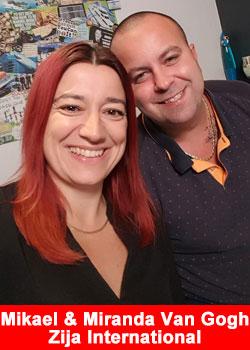 Danish Power Couple Mikael And Miranda Van Gogh Partner With Zija International