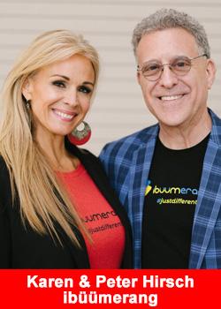 Karen & Peter Hirsch Reach $1 Million In Earnings In 15 Months At ibüümerang