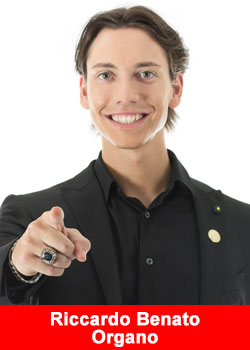 Riccardo Benato From Italy The Youngest Blue Diamond And Top Recruiter at ORGANO