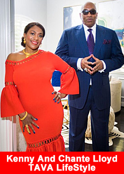 Industry Icons Kenny And Chante Lloyd Celebrate TAVA LifeStyle First Year In Business