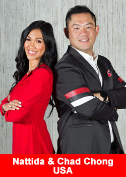 Nattida and Chad Chong Top Speakers At The Business For Home Virtual Conference