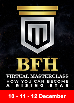 """Post image for Virtual BFH Masterclass """"How To Become A Rising Star"""""""