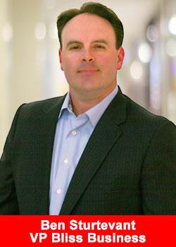 Top Leader Ben Sturtevant Named VP Marketing Of Bliss Business