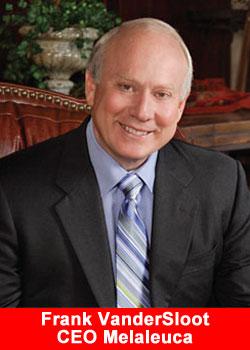 Melaleuca, CEO, Frank Vandersloot